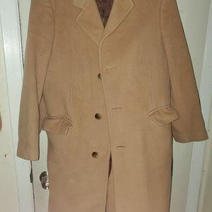 Kasper pure cashmere trench coat
